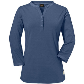 Schöffel Johannesburg Langærmet T-shirt Damer, blue indigo